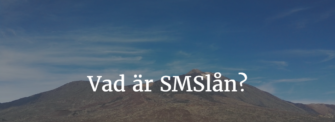Smslån med e legitimation
